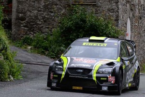 Paolo Porro, Paolo Cargnelutti (Ford Focus WRC A8 #1,Bluthunder Racing Italy)
