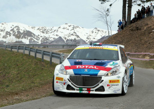 Paolo Andreucci, Anna Andreussi (Peugeot 208 R5 #2, FPF Sport)