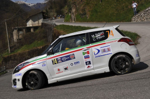 Marco Soliani, Clio Pittino (Suzuki Swift N2 #74, G.R. Sport)