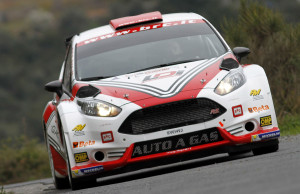 Giandomenco Basso, Lorenzo Granai (Ford Fiesta R5 #203, Movisport)