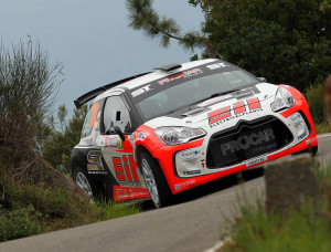 Rudi Michelini, Nicola Angilleta (Citroen DS3 R5 #210, Movisport)
