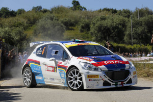 Paolo Andreucci, Anna Andreussi (Peugeot 208 R5, #6 Racing Lions)