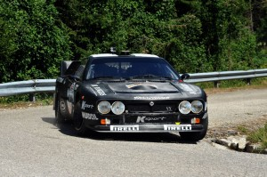 Lucky-Pons (Rally Club Sandro Munari  Lancia rally 037 # 303)