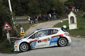 Paolo Andreucci, Anna Andreussi (Peugeot 208 T16, #3 Racing Lion SRL);
