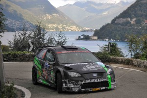 Paolo Porro, Paolo Cargnellutti (Ford Focus WRC #5, Bluthunder Racing Italy)