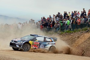 Andreas Mikkelsen (NOR), Anders Jæger (NOR) Volkswagen Polo R WRC (2016) WRC Rally Portugal 2016