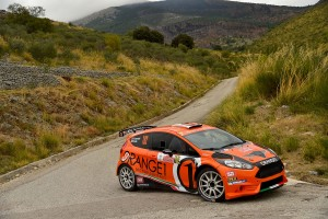 Simone Campedelli, Pietro Elia Ometto (Ford Fiesta R5 #102, Orange1 Racing)